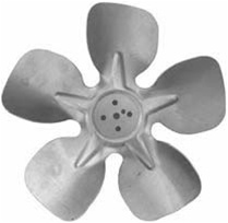 "9"" Morrill Fan Blade Counter Clockwise"