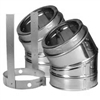 "6"" dia. Duratech  30 degree (2) Elbow Kit Stainless Steel"
