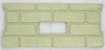 1pc Premium Fire-Tek™ Firebrick Set for Whitfield Profile 20 / Adv. OP 2
