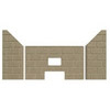 3pc Premium Fire-Tek™ Firebrick for Traditions ® T-300P