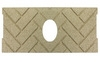 1 pc Premium Herringbone Fire-Tek™ Firebrick for Whitfield® Quest