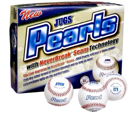 leather pitching machine balls