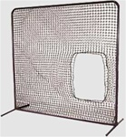 Softball Pitchers Screen Frame and Net