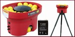 Heater Crusher Wiffle Ball Pitching Machine Deluxe Package