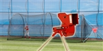 Heater Combo Pitching Machine & Batting Cage