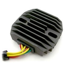 Combination Electronic Voltage Regulator & Rectifier. Replaces BOSCH 3-phase diode board / rectifier and voltage regulator. Advanced metal ceramic heat transfer technology replaces the BMW R Airhead & Moto Guzzi diode board system.
