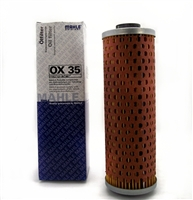 BMW Airhead oil filter without oil cooler; R45; R60; R65; R75; R80; R90; R100; OX35; 11 42 1 337 572; airhead oil filter; BMW motorcycle oil filter; HF161; 11 42 1 337 198; CH6061; straight bmw oil filter