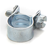 bmw hoseclamp; clamp; small hose clamp; fuel line clamp; stainless steel clamp; bmw fuel hose clamp