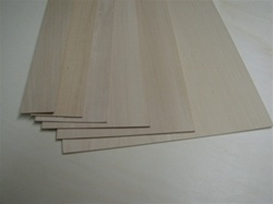 basswood sheets