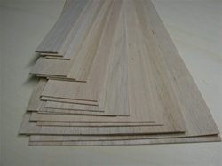 balsa wood sheet