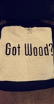 GRAY GOT WOOD TSHIRT SMALL
