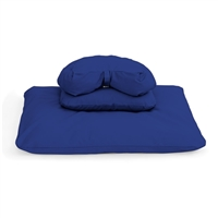 Deluxe Buckwheat Crescent Zafu Zabuton Meditation Cushion Set