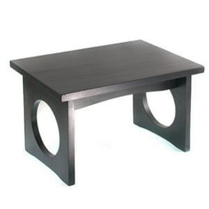 Cloud Meditation Bench Zen Black