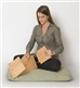Folding Seiza Meditation Bench Set
