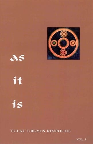 As It Is Volume 1 <br>by Tulku Urgyen Rinpoche