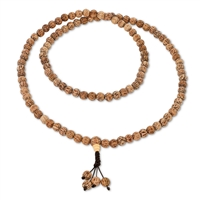Coconut Palm Wood Mala 8mm Beads