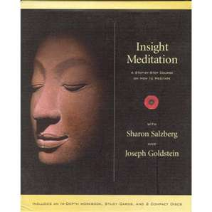 Insight Meditation:  A Step By Step Course on How to Meditate ~ with Sharon Salzberg and Joseph Goldstein