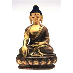 Seated Buddha Statue, 4 inches