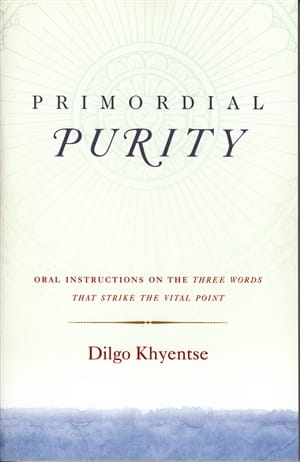 Primordial Purity ~ Oral Instructions on the Three Words that Strike the Vital Point