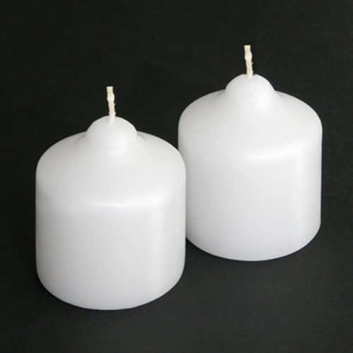 Unscented Pillar Candle, Short