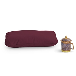 Zafu Support Meditation Cushion with Zippered Cover