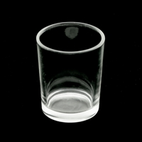 Clear Glass Candle Holder for Votive Candles