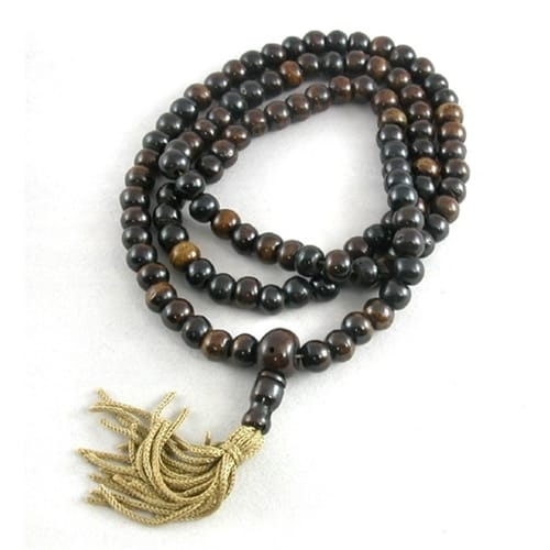 Brown Bone Mala