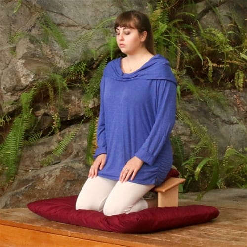 Seiza Bench And Cloud Bench