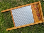 Large Family-Size Zinc Washboard.