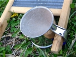 Tin Cup for Musical Washboard, unused