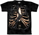 Skulbone Exposed Ribs T-Shirt