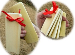 Traditional Chinese Bamboo Kuai Ban Shu Clappers