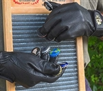Clanky Dog Deluxe Leather Bottle Cap Washboard Gloves
