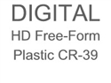 Digital HD Free-Form Plastic Progressive