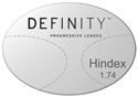 Essilor Definity High Index 1.74