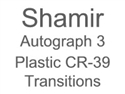 Shamir Autograph 3 Plastic CR-39 Transitions