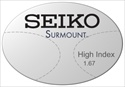 Seiko Surmount High Index 1.67