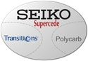 Seiko Supercede Polycarbonate Transitions