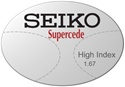 Seiko Supercede High Index 1.67