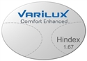 Varilux Comfort Enhanced High Index 1.67