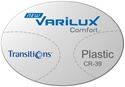 Varilux Comfort Plastic CR-39 Transitions VI