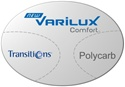 Varilux Comfort Polycarbonate Transitions VI