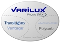 Varilux Physio DRx Polycarbonate Transitions Vantage