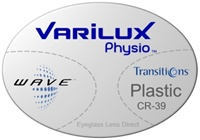 Varilux Physio Plastic CR-39 Transitions VI