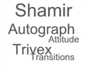Single Vision Trivex Autograph Attitude Transitions