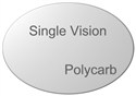 Single Vision Polycarbonate Spherical (Custom)