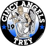 Angel car window sticker decals &  magnets