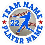 baseball car stickers decals magnets & wall decals