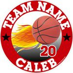 basketball car stickers clings decals & magnets