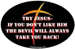 Christian car stickers clings decals & magnets